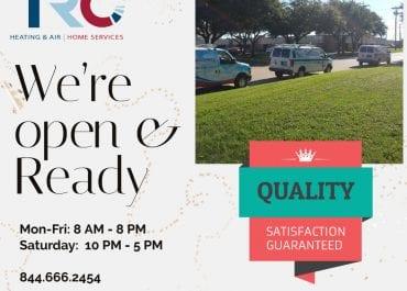 We're open & Ready